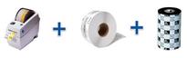 Комплекс для самостоятельной печати маленьких и средних тиражей этикеток, бирок и текстильных лент с шириной до 56 мм